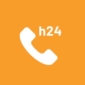 icona Reperibilità e assistenza H24